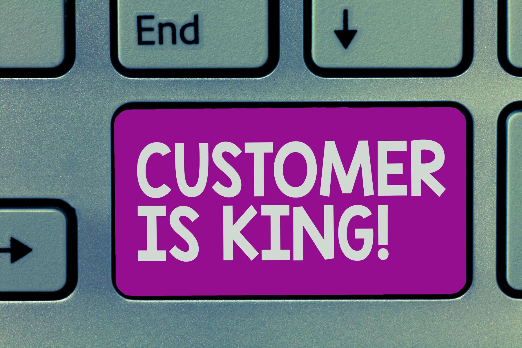 foto Customer is King - Verspil minder tijd aan zinloze offertes. En jouw webteksten helpen je daarbij.