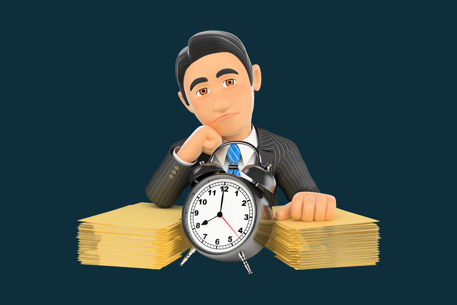 foto kostbare tijd - Verspil minder tijd aan zinloze offertes. En jouw webteksten helpen je daarbij.